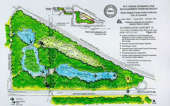 Technology page for Stormwater pond design